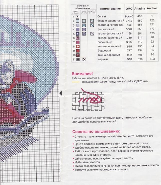 Вышивка ретро автомобиль схема 9350