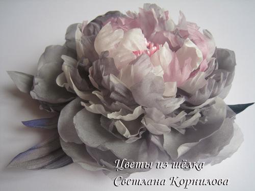 Шёлковые цветы своими руками