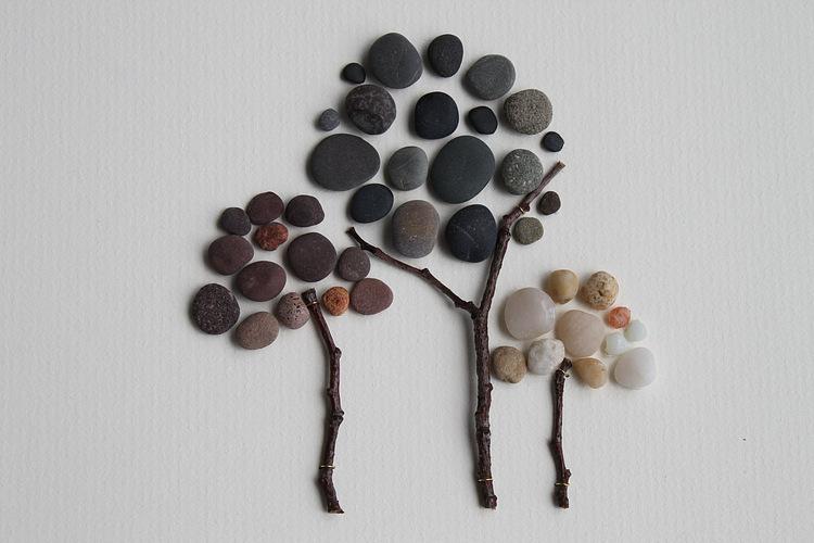 Поделки своими руками с камушков