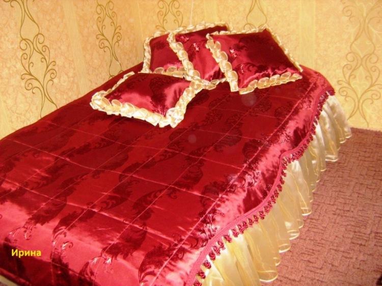Как и из чего сшить покрывало на кровать 435