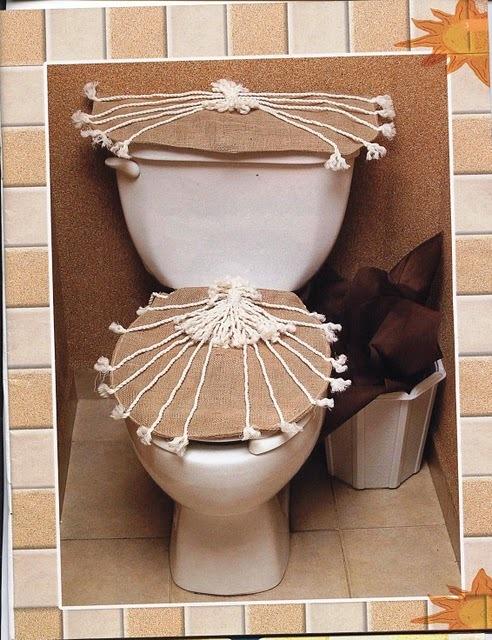 Украшение для туалета своими руками 22