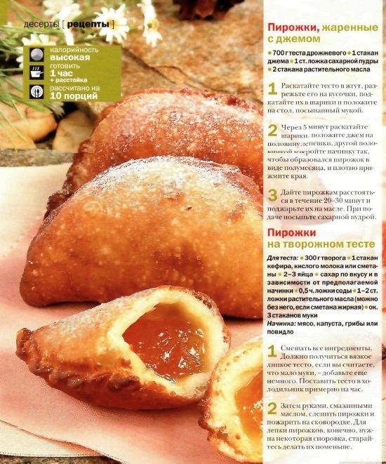 Рецепт пирожков жаренных на масле