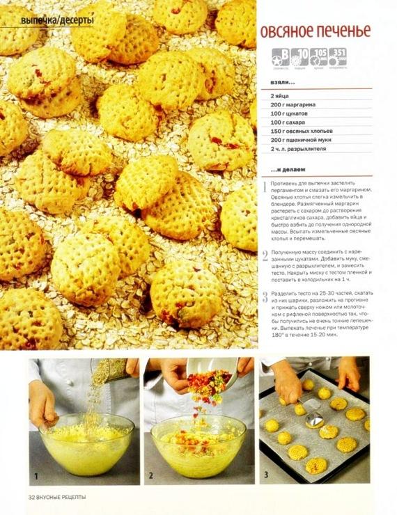 Печенье из кефира и маргарина рецепт