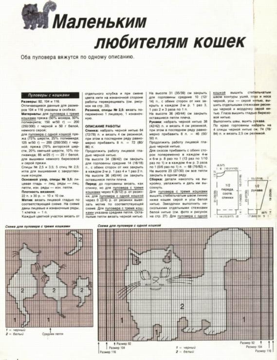 Вязание для кошки спицами - вязание спицами - t.