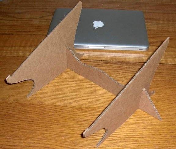 Подставки для ноутбуков своими руками