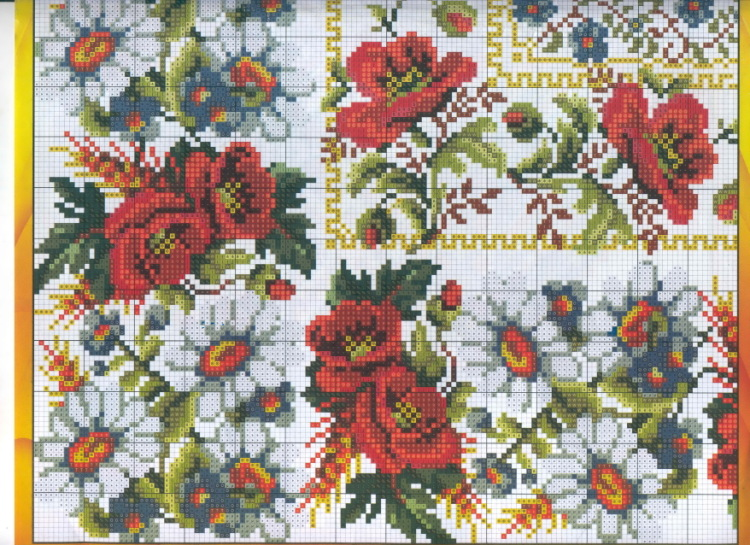 Вышивка для вышиванок своими руками