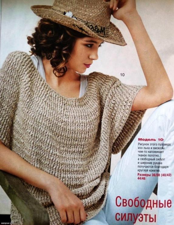 Свободное вязание модели