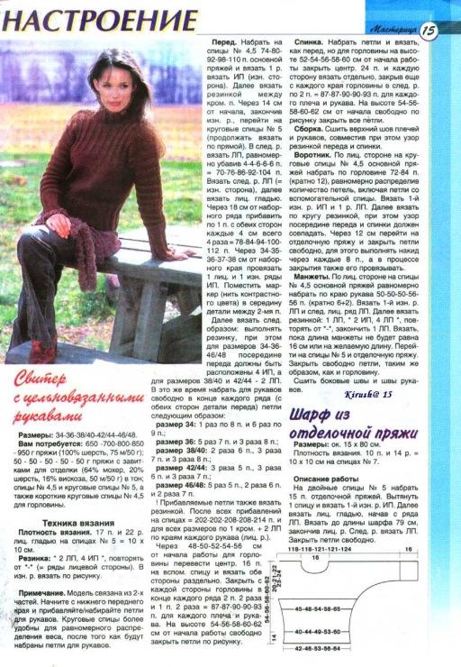 Вязание спицами журнал дропс