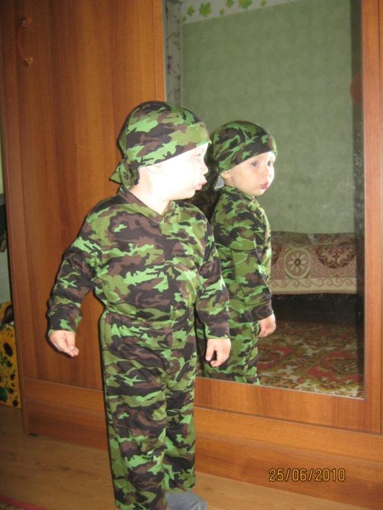 Фото детей в костюме спецназа