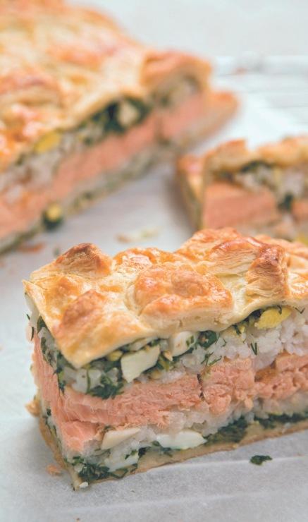 Выпечка с рыбой и морепродуктами рецепты