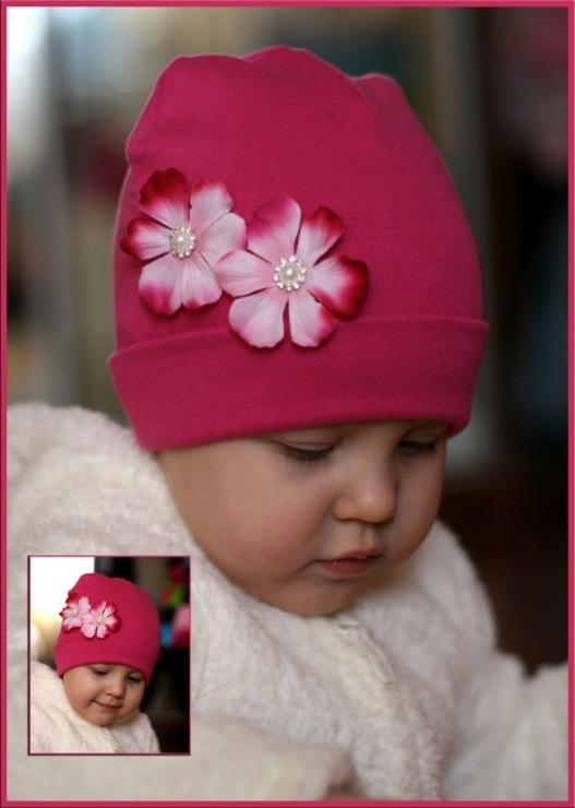 Как украсить вязаную детскую шапку своими руками