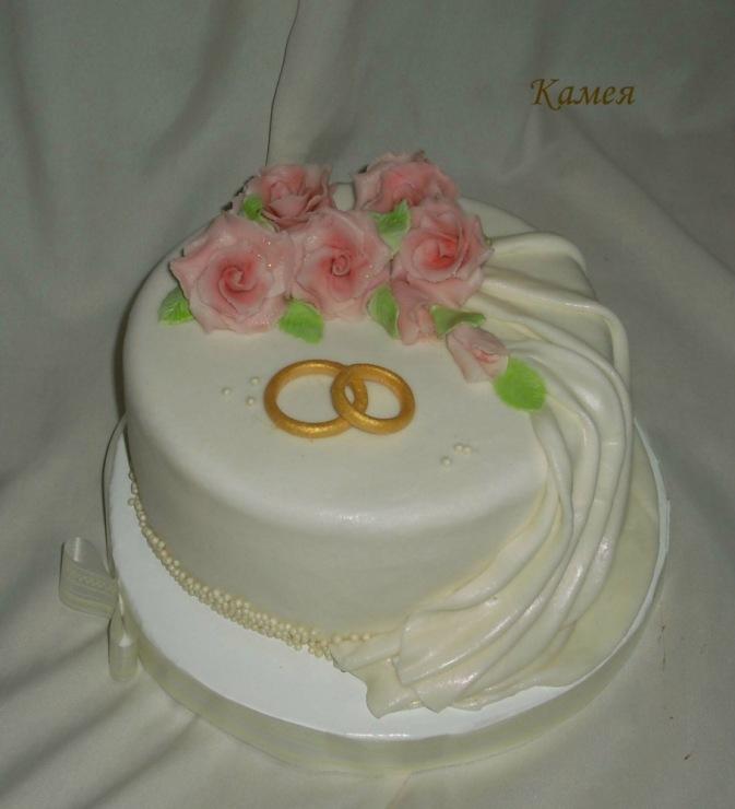 фото свадебных тортов воронеж