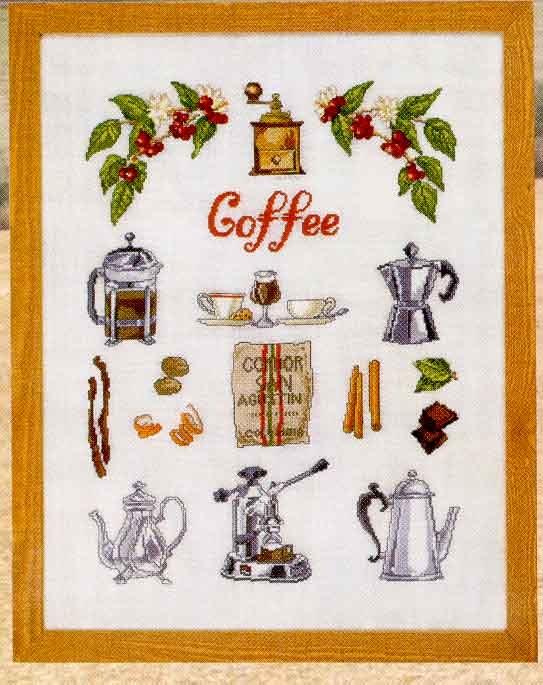 Любительница кофе овен схема