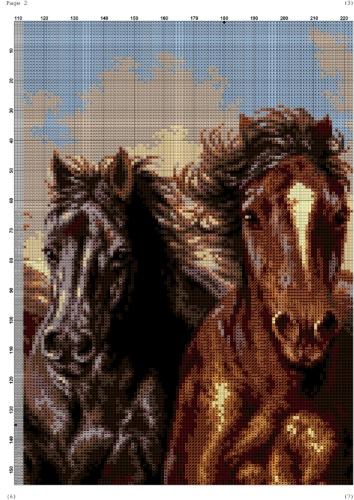 Вышивка лошадь к чему