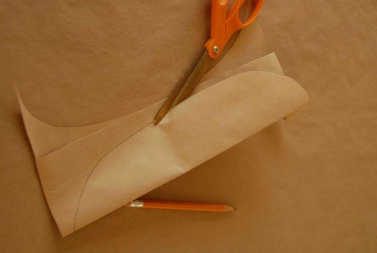 Лист пальмы из бумаги своими руками