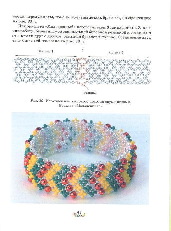 Схемы мозаичного плетения бисером браслеты для начинающих