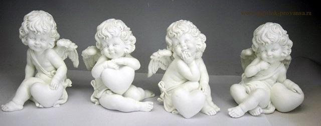 Ангелочек из гипса