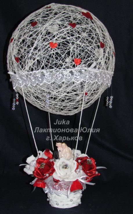 Воздушный шар своими руками из ниток