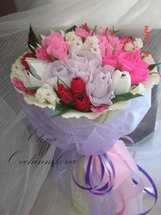 Букет на свадьбу в подарок молодоженам от родных и близких 17