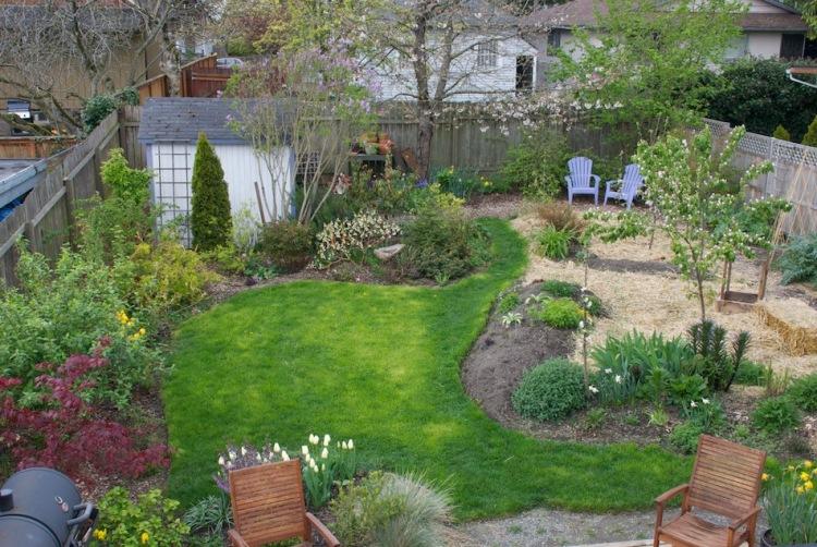 Фото дизайн маленьких садиков