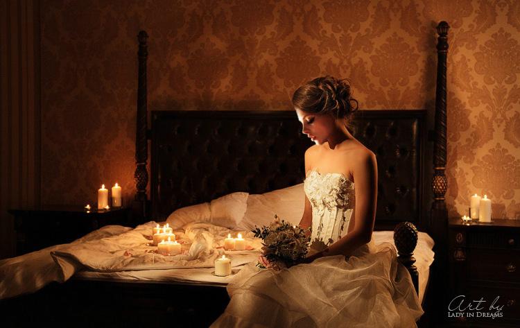 рассказ о первой брачной ночи в фотографиях