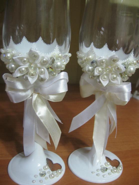 Мастер классы по изготовлению свадебных бокалов
