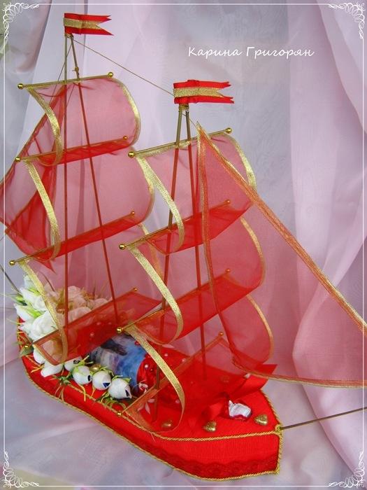 Сделать корабль с парусами своими руками