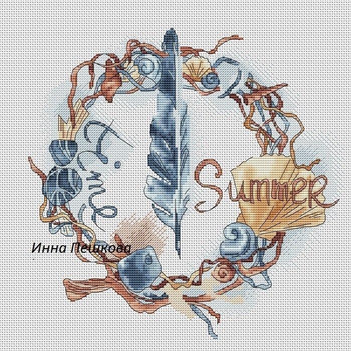 Авторские схемы вышивки крестом