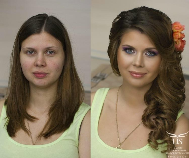 Причёски с чёлкой на бок для средних волос
