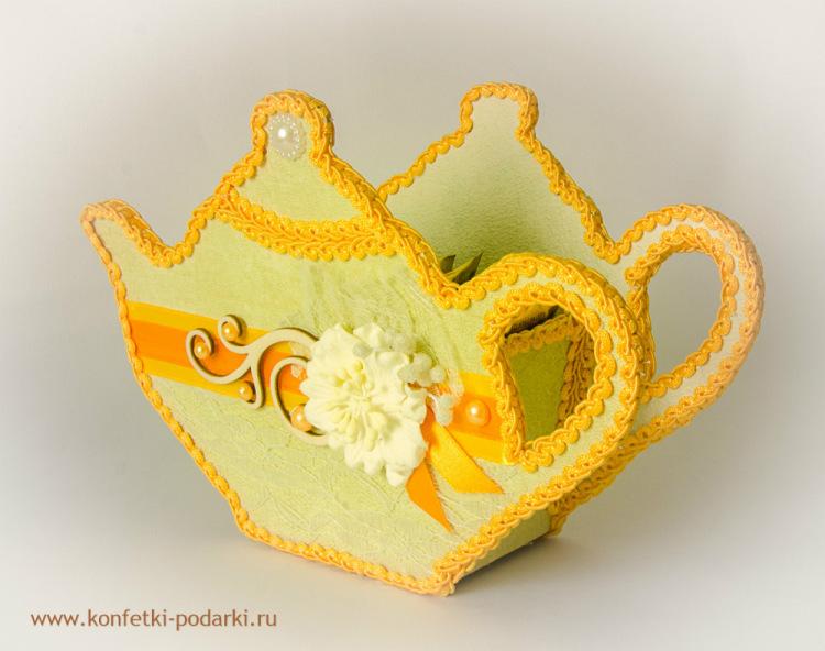 Чайник для пакетиков чая мастер класс