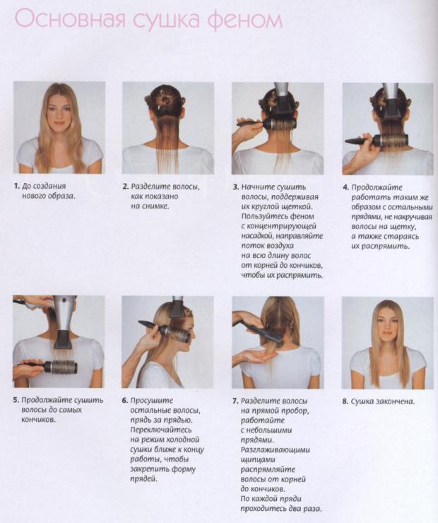 как разделить волосы для накручивания очередной