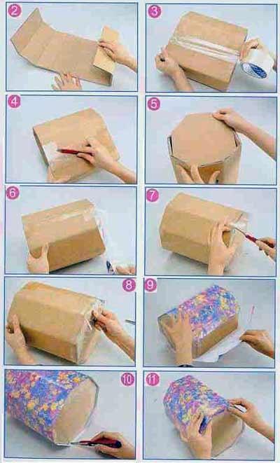 Как сделать шкатулку сундучок